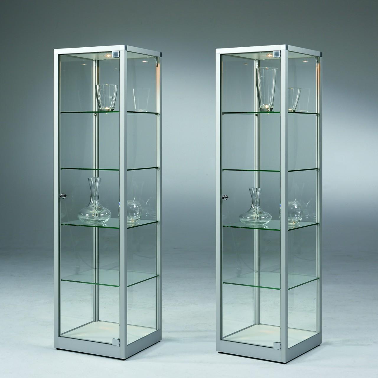 vitrine aus glas im glasvitrinen shop von. Black Bedroom Furniture Sets. Home Design Ideas